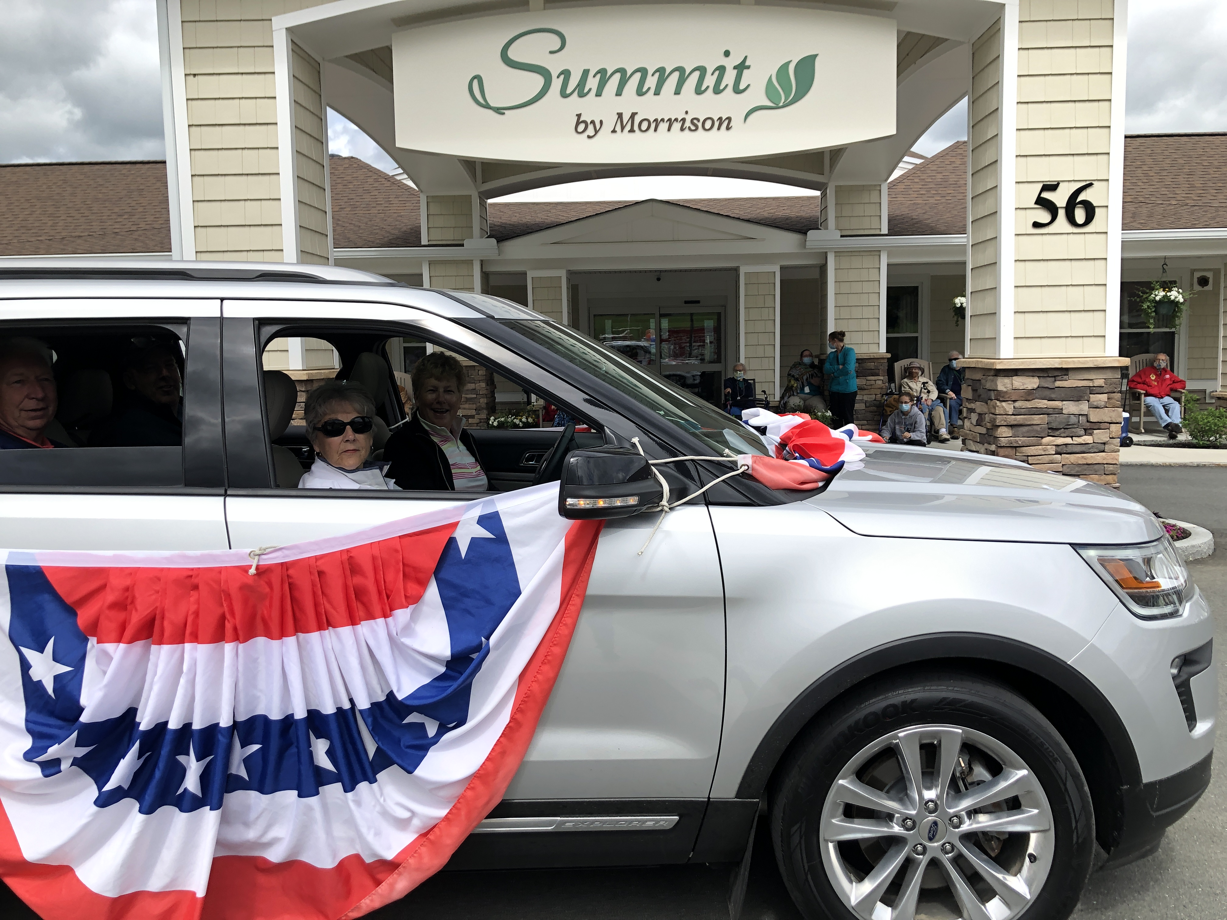 June 2020 Family and Friends Car Parade